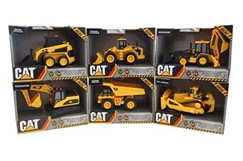 Cat 37602 - Mini Veicolo Caterpillar Mezzi da Lavoro, 12.5 cm