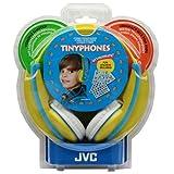 JVC HA-KD5-Y Kids Headphone with Volume Limiter in Yellow/Blue - JVCHAKD5Y - HA-KD5-Y