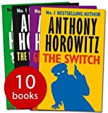 Anthony Horowitz Horowitz Collection 10 Books: The Devil & His Boy, Groosham Grange, The Greek Who Stole Christmas, The Switch, The Falcon's Malteser, Public Enemy No. 2, Three of Diamonds, South by South East, Granny, Return to Groosham Grange