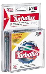 Turbo Tax 2000 (ZIP Disk) (3-Pack)