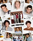 Set: One Direction, Take Me Home, Polaroids Mini Poster (20x16 inches) + 1x free 1art1 ® Collection Poster