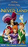 Peter Pan in Return to Never Land (Walt Disney Pictures Presents) [VHS]