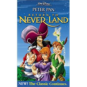 Peter Pan in Return to Never Land (Walt Disney Pictures Presents) [VHS]: Harriet Owen, Blayne Weaver, Corey Burton, Jeff Bennett, Kath Soucie, Andrew McDonough, Roger Rees, Spencer Breslin, Bradley Pi