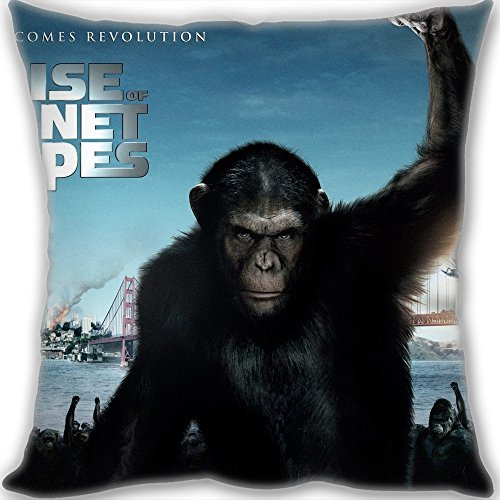 Custom 2011 Rise of the Planet of the Apes Throw Pillow Standard Size 3030cm(1212inch) Mini Children Size 190g(0.42lb) Leaning Cushion (include Pillow Inner)