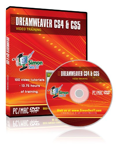 Learn Adobe Dreamweaver CS4 and CS5 Training Video Tutorials - Learn Website Design