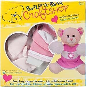 Colorbok Build A Bear Kit Pink Cuddles Cheerleader
