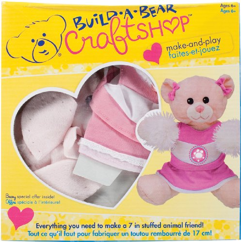 Colorbok Build A Bear Kit Pink Cuddles Cheerleader front-501348