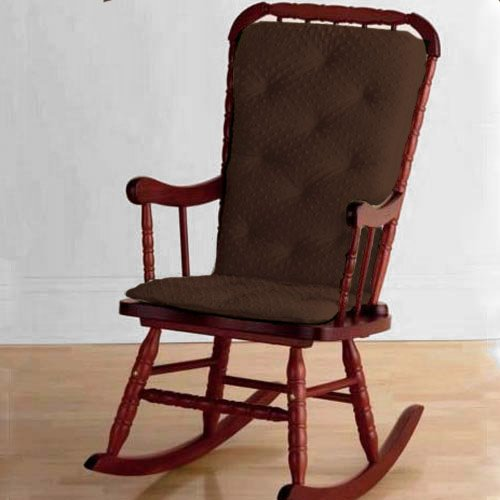 baby doll bedding heavenly soft adult rocking chair cushion pad set chocolate ebay. Black Bedroom Furniture Sets. Home Design Ideas