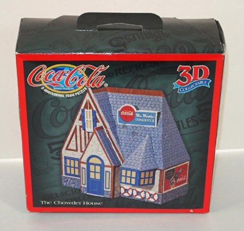 "Coca-Cola 3d Puzzle ""The Chowder House"" - 1"