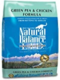 Natural Balance Dry Cat Food, Limited Ingredient Grain Free Pea and Chicken Recipe, 10 Pound Bag
