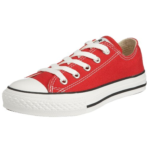 Converse Junior Chuck Taylor AS Core Ox Lace-Up Red 3J236 12 Child UK