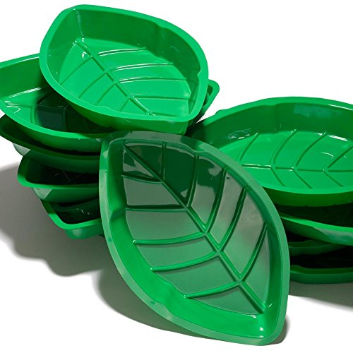 Cheapest Prices! Palm Leaf Serving Trays (A dozen per package)