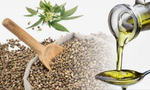 Olio di Canapa Biologico da prima spremitura a Freddo - Ricco di Omega 3 e 6 Rigenerante e Nutriente per Pelle e Capelli