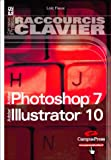 Raccourcis Clavier, Photoshop 7 et illustrator 10