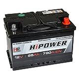HR HiPower Autobatterie 12V 85Ah 780A