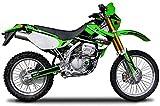 エムディーエフ(MDF) グラフィックキット スイングアームセット アタッカーモデル グリーン KLX250(-04) MKLX2-A-GR-SA