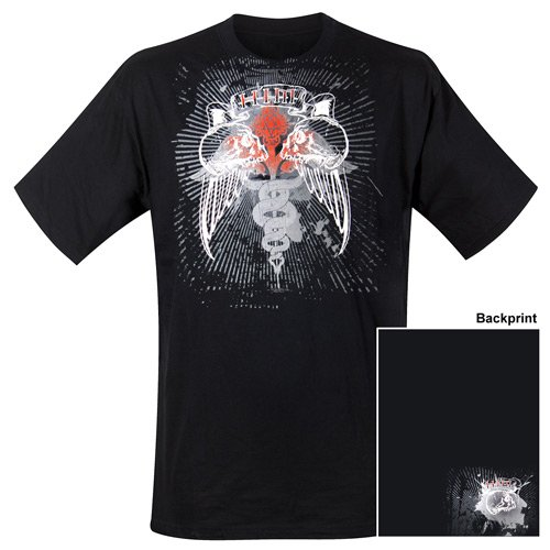Him - T-Shirt Double Skull (in L)