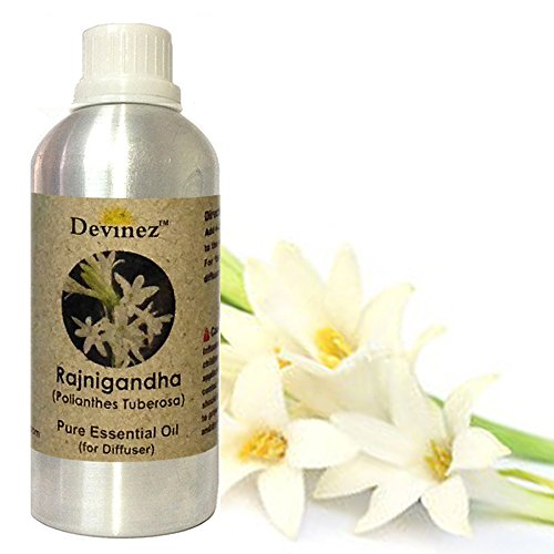 Devinez Rajnigandha Essential Oil For Electric Diffusers/ Tealight Diffusers/ Reed Diffusers, 250ml