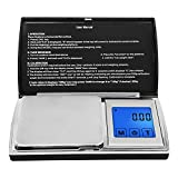 Digital Pocket Scale,Next-shine Digital Gram Pocket Grain Jewelry Weigh Scale by 200 X 0.01g,Black