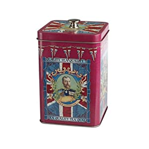 Kings Choice Retro Style Tea Caddy