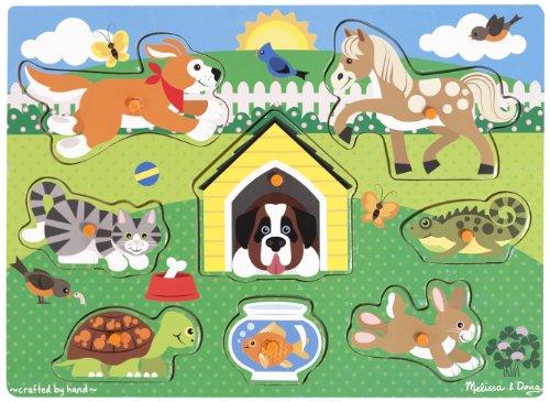Melissa & Doug Pets Peg Puzzle - 1
