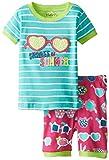Hatley Little Girls' Sunglasses Short Pajama Set