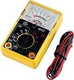 GE Multimeter, Analog 14 Range 6-Function Non-Recording, Yellow 50952