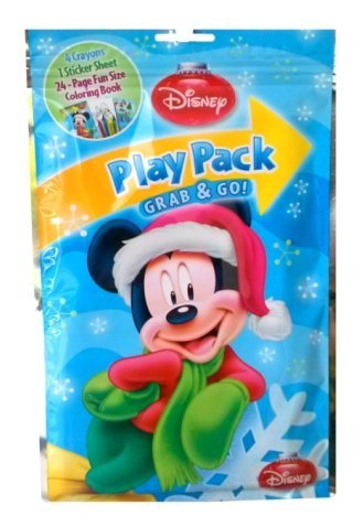 Disney Mickey Mouse Christmas Play Pack Grab & Go - 1