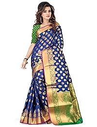 Silk Silk Saree (Asz00048_Blue)
