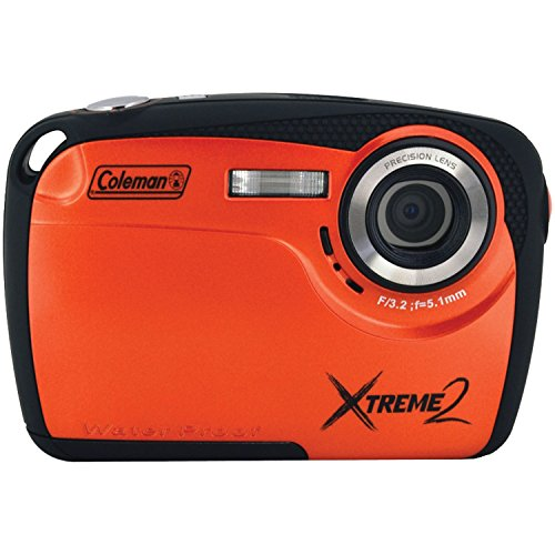 Coleman Xtreme II C12WP-O 16MP Waterproof Digital Camera with 2.5-Inch LCD Screen (Orange) (Coleman Focus compare prices)