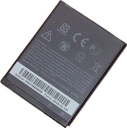 Genuine HTC Standard Battery for MyTouch 4G, MyTouch HD, HTC Merge, HTC Lexikon and HTC ADR6325 Phone Models