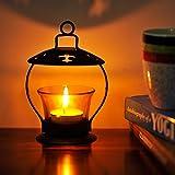 Glass Hanging Tea light Decor Mesmerizing Votive Iron Glass 1 - Cup Tealight Holder
