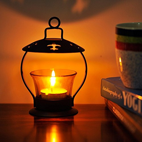 A To Z Traders, Decorative Hanging Tealight Candle Holder Home Decor Diwali Gift Decoration for your Home Temple and 1 Free Hand Shape LED Keychain