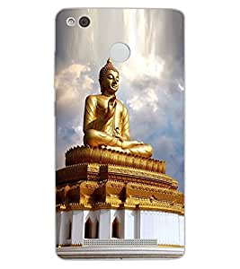 ColourCraft Lord Buddha Design Back Case Cover for XIAOMI REDMI 3X