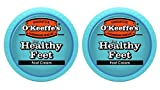 O'Keeffe's for Healthy Feet Foot Cream, 3.2 oz., Jar,  (Pack of 2)