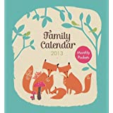 NEW! KTwo Family Calendar Planner Organiser Fox 2013by KTwo Products