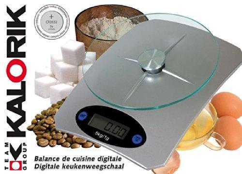 Efbe schott tKG eKS 1003 balance de cuisine numérique-argent