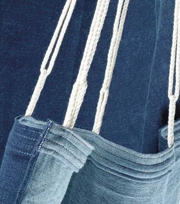 Jobek 25380 Hängesitz Sofa Jeans stonewashed von Jobek bei Gartenmöbel von Du und Dein Garten