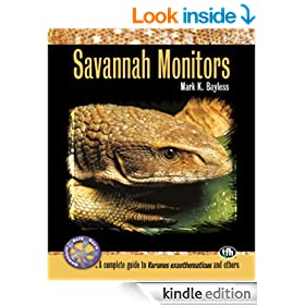 Savannah Monitors (Complete Herp Care)