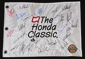 2014 Honda Classic Autographed Golf Flag - A.Scott, G.McDowell, K.Bradley, L.Donald,... by BallPark Sports LLC.
