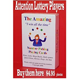 The Amazing I win all the time Playing cards