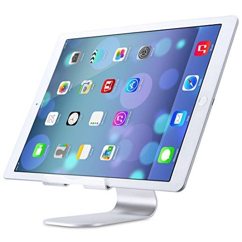 Niccou™ iPad Pro スタンド 270°回転 調整可能 アルミ シルバー