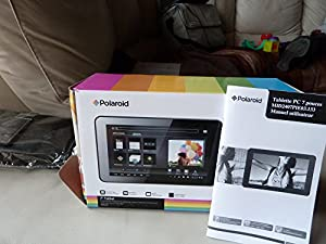 "Polaroid Tablet 17,8 cm (7"") Android 2.2, 4GB"