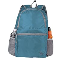 Travelon Packable Multi-Pocket Backpack (Aqua)