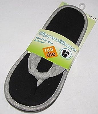 Nur Die Flip Flop Damen Sandalen Schwarz Gr 214 223 E 39 42