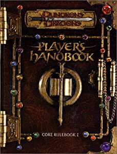 Player's Handbook: Core Rulebook I (Dungeons & Dragons) by Monte Cook, Jonathan Tweet and Skip Williams