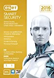Software - ESET Smart Security 2016 - 1 Computer (Frustfreie Verpackung)
