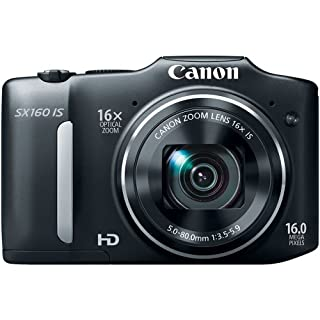 Canon PowerShot SX160 IS 16MP Digital Camera with 16x IS Zoom