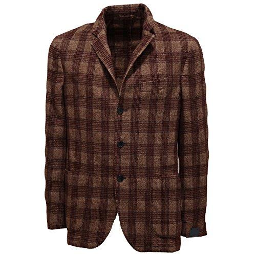 7258l-giacca-uomo-marrone-lardini-quadri-bordeaux-lana-giacche-jackets-coats-men-54