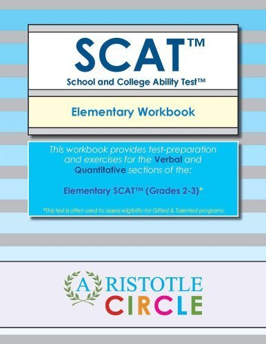 Elementary SCAT(TM) - Workbook (Grades 2-3) by Aristotle Circle (2014-08-02)